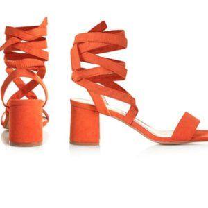 TopShop lace up heel sandals